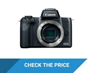 Canon EOS M50 Flip Screen Camera