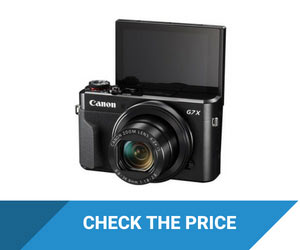 Canon G7 X Mark Camera With Flip Screen