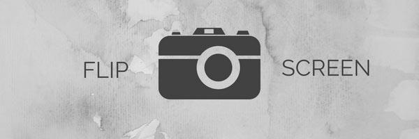 Flip Screen Camera for Vlogging