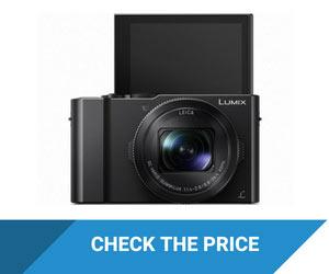 PANASONIC LUMIX LX10 Camera with Flip Screen