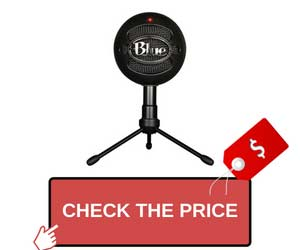 Blue Snowball Microphone Starter Vlogging Kit