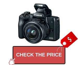 Canon EOS M50 Vlogging Kit