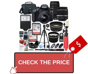 Canon T6 EOS Rebel Full Vlogging Kit