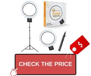 Diva Ring Light Super Nova Vlogging Kit
