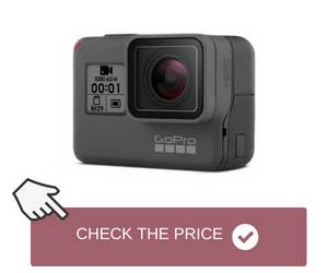 Action Camera with Durable Waterproof Design