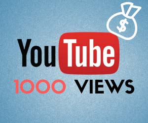 How much does YouTube pay per 1000 views