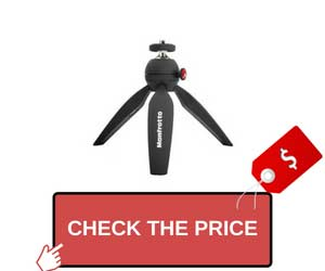 Manfrotto MTPIXI-B PIXI Mini Tripod