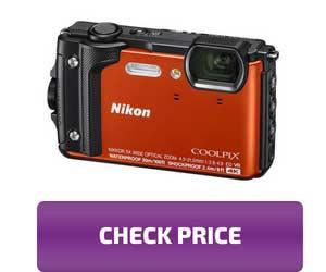 NikonW300 Waterproof camera