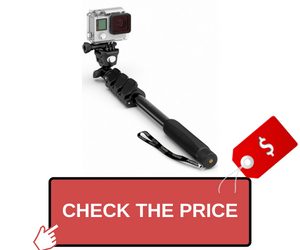 Professional 10-In-1 GoPro Monopod Vlogging Kit
