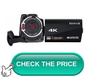Best Camcorder for YouTube Videos Kickteck