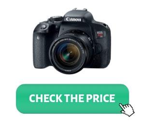 Canon EOS REBEL T7i DSLR Vlogging Camera Review