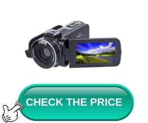 Video Camera Camcorder SOSUN HD