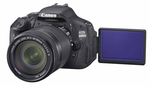Canon Cameras with a Flip Screen