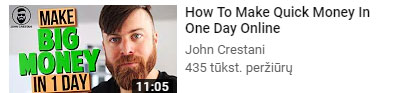Intriguing tex for YouTube thumbnail