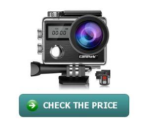 Campark X20 4K 20MP Action Camera
