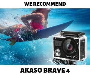 Vlogtribe.com recommend AKASO BRAVE 4