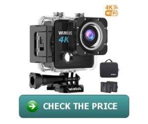 Wimius L1 4K Sports Action Camera
