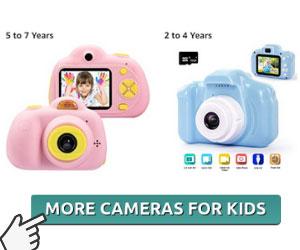 More vlogging cameras for kids