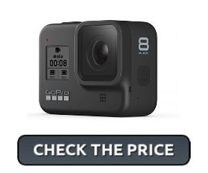 GoPro Hero 8 Black camera for podcasting