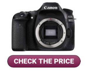 Canon Digital SLR Camera EOS 80D for Makeup