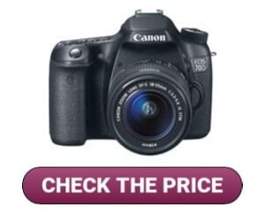 Canon EOS 70D for Makeup