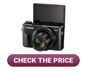 Canon Powershot G7 X Mark II for Makeup