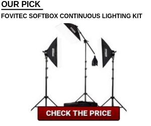 Fovitec Softbox Continuous Lighting Kit Vlogtribe