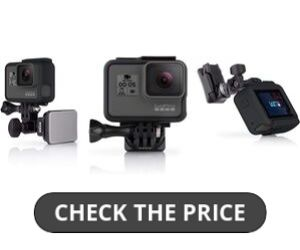GoPro Helmet Front Side Mount for Motovlogging
