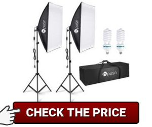 HPUSN Softbox Lighting Kit review
