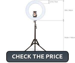 Inkeltech Ring Light for Makeup Vlogs