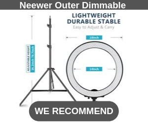 Neewer Outer Dimmable Best Ring Light Vlogtribe