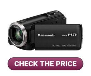 Panasonic VHC-V180K Camcorder for Makeup