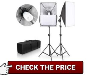 SH softbox lighting kit