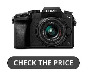Panasonic LUMIX G7 Flip Screen Camera Review