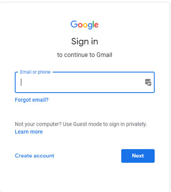Connect to your Google Account