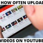How often publish videos on YouTube