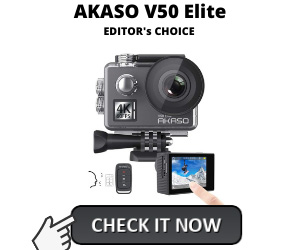 Best Action Camera Under 100 - Akaso V50 Elite