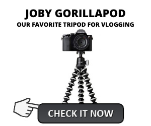 Vloggers Favorite Tripod for Vlogging Joby Gorillapod