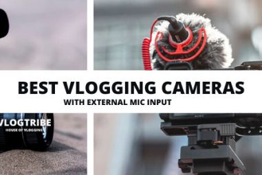 Best Vlogging Cameras with External Microphone Input [2020 Review]